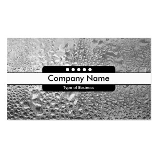 Center Band 5 Spots - Cool Water Business Cards