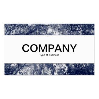 Center Band - Blue Autumn Business Cards