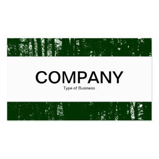 Center Band - Dark Woods HC - Dk Forest Green Pack Of Standard Business Cards