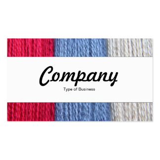 Center Band  - Darning Thread Business Cards