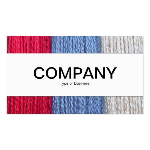 Center Band - Darning Thread Business Card