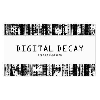 Center Band  - Digital Decay Pack Of Standard Business Cards