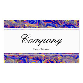 Center Band edged - Fractal Abstract 061012a Business Card Templates