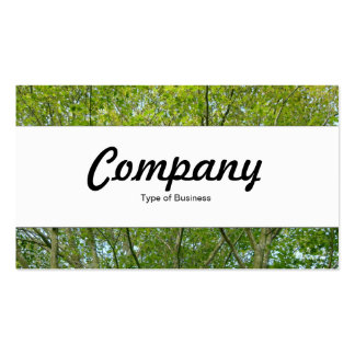 Center Band - Japanese Maple Business Cards