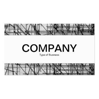 Center Band - Scaffolding Business Card Template