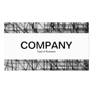 Center Band - Scaffolding Business Card Template