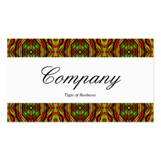 Center Band - Script - Pattern Pack Of Standard Business Cards