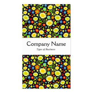 Center Band - Spring Flowers Pack Of Standard Business Cards
