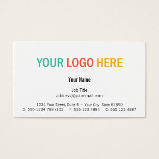 Center custom logo modern custom professional