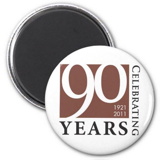 Center for Spiritual Living 90 Year Celebration Fridge Magnets
