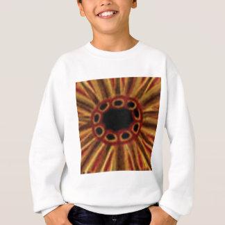 center hole circles sweatshirt
