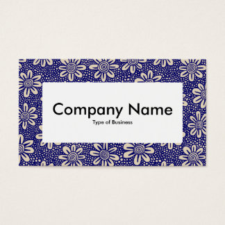 Center Label v4 - 140617 - Dk Blue and Beige Business Card