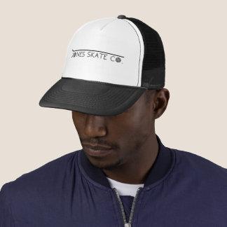 Center Logo Snapback Trucker Hat