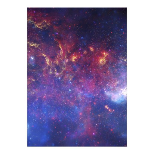 Center of the Milky Way Galaxy IV Invitation