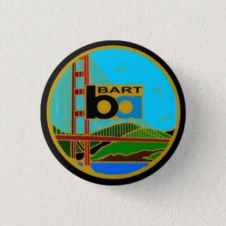 Center Seal Bay Area Rapid Transit 3 Cm Round Badge