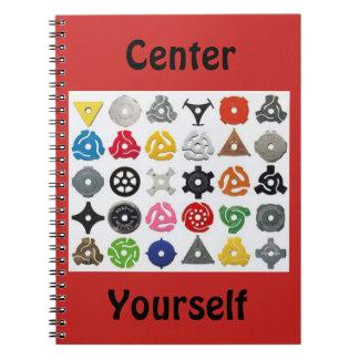 Center Yourself Notebook