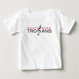 Centerburg Trojans Treble Clef Baby T-Shirt