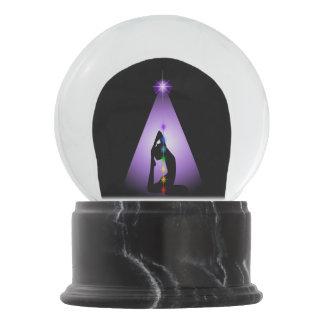 Centered Snow Globe