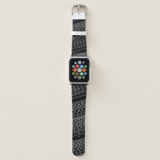 Centesimal 10 Digit '3x3x3 Puz' by Kenneth Yoncich Apple Watch Band
