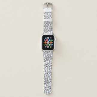 Centesimal 10 Digit Pi by Kenneth Yoncich Apple Watch Band