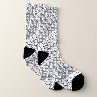 Centesimal 10 Digit Pi by Kenneth Yoncich Socks