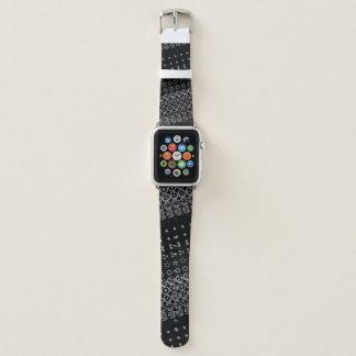 Centesimal 12Digit Fibonacci Sequence by K Yoncich Apple Watch Band