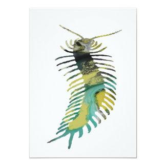 Centipede Art Card