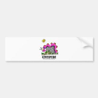 Centipede by Lorenzo © 2018 Lorenzo Traverso Bumper Sticker
