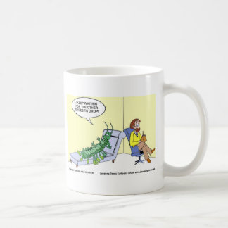 Centipede Psychiatry Funny Cards Mugs & Gifts