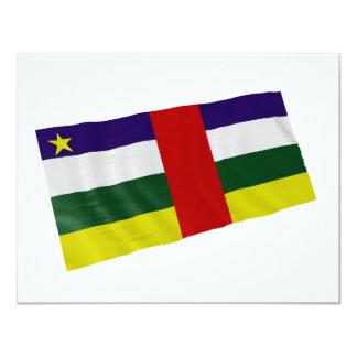 """centrafrica 4.25"""" x 5.5"""" invitation card"""