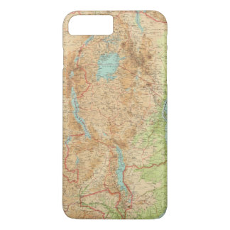 Central Africa eastern section iPhone 7 Plus Case
