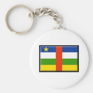 Central Africa Republic Flag Keychains