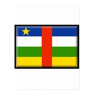 Central Africa Republic Flag Postcard