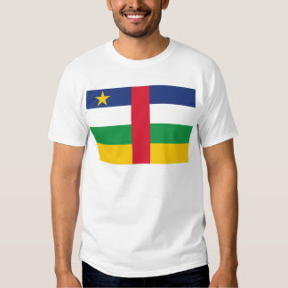 Central Africa Republic Flag T Shirts