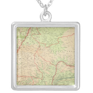 Central Africa western section Silver Plated Necklace
