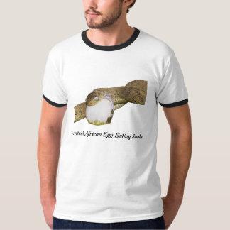 Central African Egg Eating Snake Ringer T-Shirt
