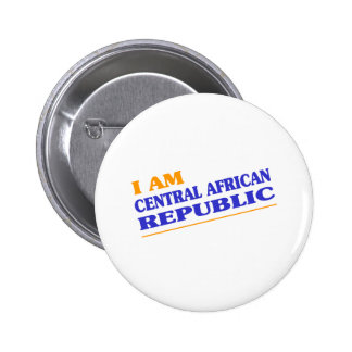 CENTRAL AFRICAN REPUBLIC PINBACK BUTTONS