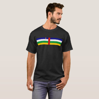Central African Republic country flag symbol long T-Shirt
