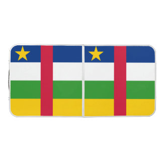 Central African Republic Flag Beer Pong Table