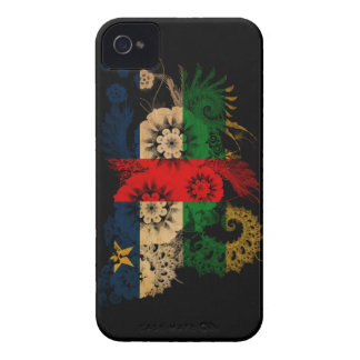 Central African Republic Flag Case-Mate iPhone 4 Case