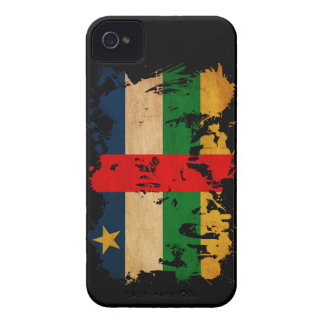 Central African Republic Flag iPhone 4 Case-Mate Cases