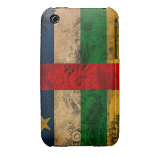 Central African Republic Flag iPhone 3 Case-Mate Cases