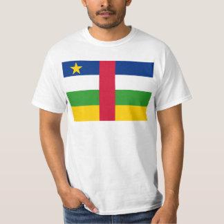 Central African Republic Flag CF Tshirt