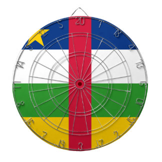 Central African Republic Flag Dart Board