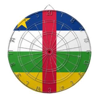 Central African Republic Flag Dart Board