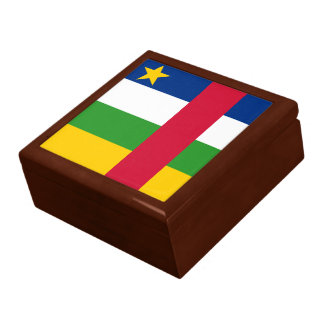 Central-African Republic Flag Gift Box