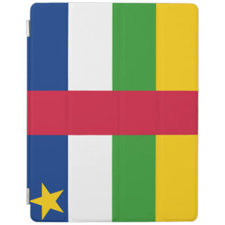 Central-African Republic Flag iPad Cover