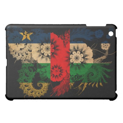 Central African Republic Flag iPad Mini Cover