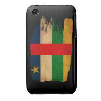 Central African Republic Flag iPhone 3 Case