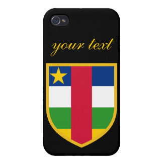 Central African Republic Flag iPhone 4 Cover